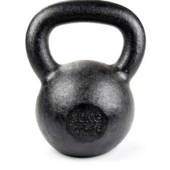 Tekbell-Kettlebell-20kg-44-Pound-Black-0