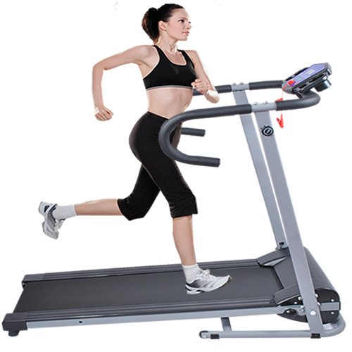 500w-Folding-Electric-Treadmill-Portable-Motorized-Running-Machine-Black-New-0