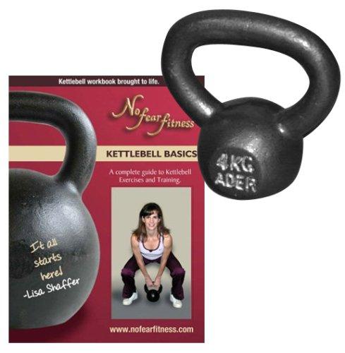 Ader Premier Kettlebell Kg: Ader Premier Kettlebell- (4kg) & Lisa Shaffer's Kettlebell