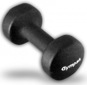 Black-6-Lbs-Neoprene-Coating-Iron-Dumbbells-0