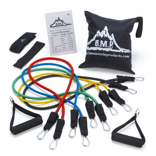 Black-Mountain-Products-Resistance-Band-Set-with-Door-Anchor-Ankle-Strap-Exercise-Chart-and-Resistance-Band-Carrying-Case-0
