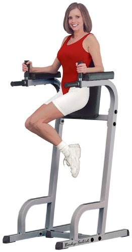 Body-Solid-Commercial-Rated-Vertical-Knee-Raise-and-Dip-Station-Power-Tower-GVKR60-0