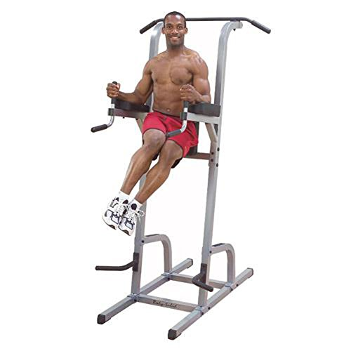 Body-Solid-Deluxe-Vertical-Knee-Raise-and-Dip-Station-Power-Tower-GVKR82-0