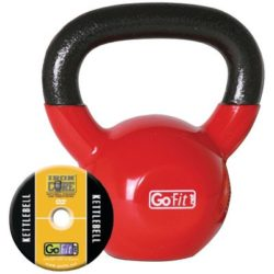 GoFit-15-Pound-Red-Kettlebell-with-Vinyl-Coating-Training-DVD-and-Exercise-Booklet-0