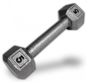 Grey-5-Lbs-Hex-Dumbbells-0