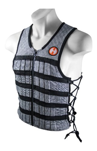 Hyperwear-Hyper-Vest-PRO-Unisex-10-Pound-Adjustable-Weighted-Vest-for-Fitness-Workouts-Medium-Grey-0
