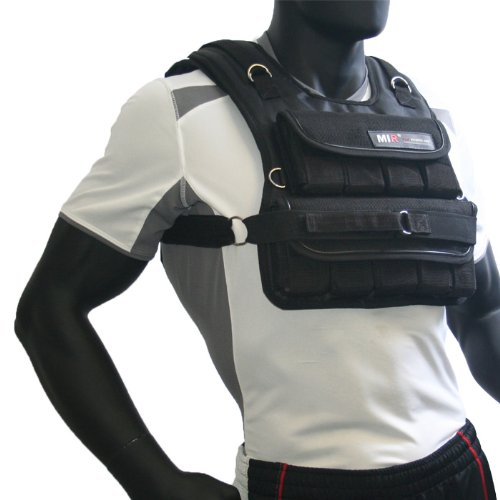 Free Weights Sports Direct: MIR 50LBS Short Adjustable Weighted Vest
