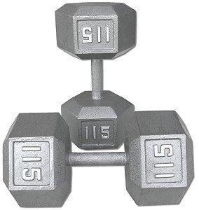 Pair-115-lb-Cast-Iron-Hex-Dumbbells-0