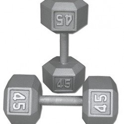 Pair-45-Lb-Cast-Iron-Hex-Dumbbells-0