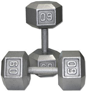 Pair-60-Lb-Cast-Iron-Hex-Dumbbells-0