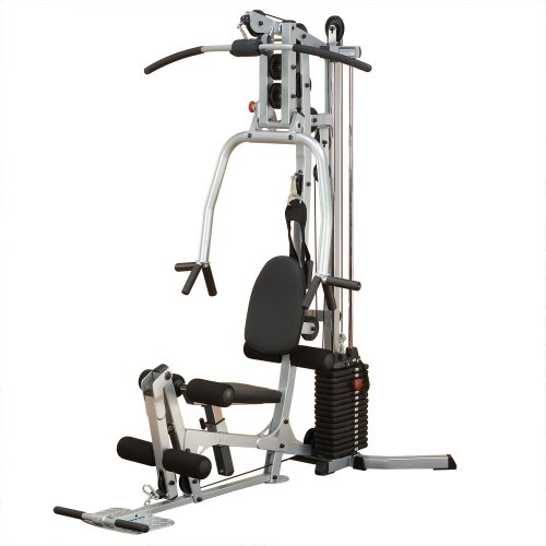Powerline-BSG10X-Home-Gym-Short-Assembly-160-Pound-Weight-Stack-0