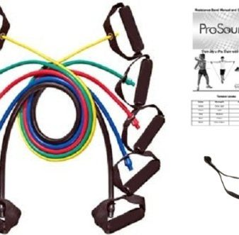ProSource-48-Inch-Premium-Latex-Resistance-Exercise-Band-Set-Set-of-Five-0
