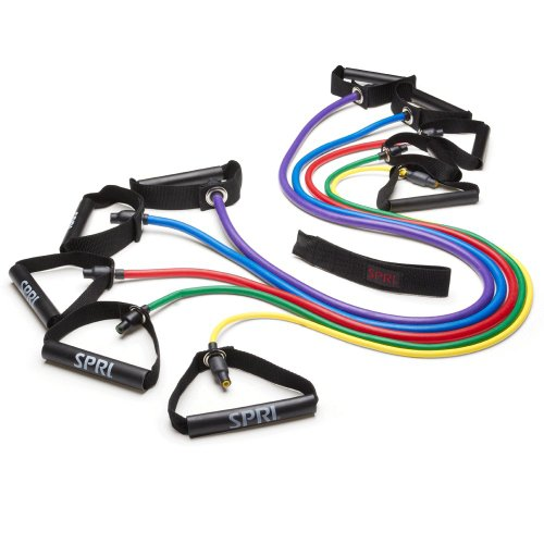 SPRI-Xertube-Resistance-Band-Exercise-Cords-with-Door-Attachment-Sold-Individually-0