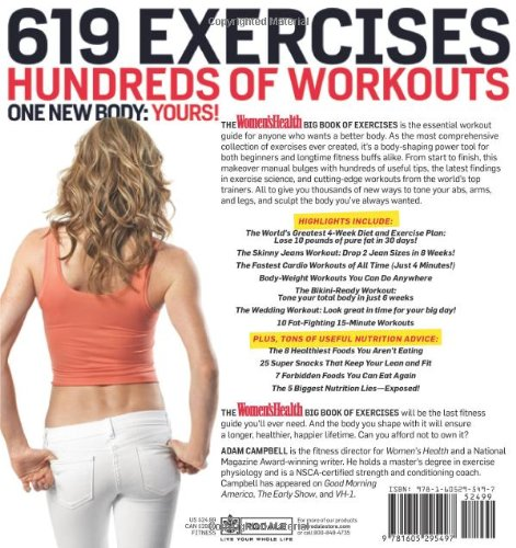 Total Gym Big W: The Women's Health Big Book Of Exercises: Four Weeks To A