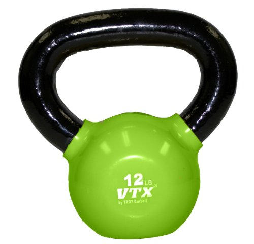 Troy-Barbell-VTX-Vinyl-Coated-Kettlebell-12-Pounds-Green-0