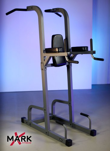 XMark-Fitness-Commercial-VKR-Vertical-Knee-Raise-with-Dip-and-Pull-up-Station-Power-Tower-0