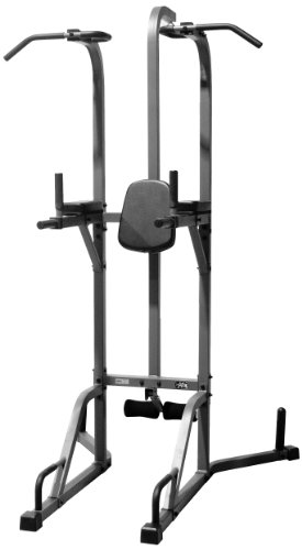 Xmark-Deluxe-Power-Tower-and-Heavy-Bag-Stand-0
