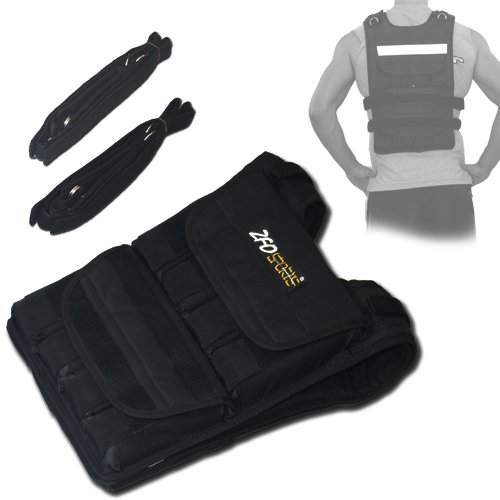 ZFOsports-40LBS-ADJUSTABLE-WEIGHTED-VEST-0