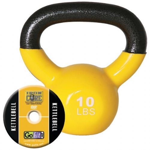 Gofit-Gf-Kbell10-Kettelbell-Iron-Core-Training-Dvd-10-Lbs-Yellow-0